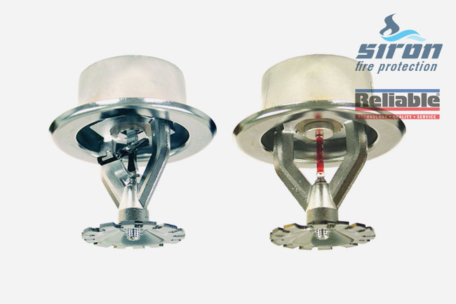 Extended Coverage Sprinklers F1fr K80 K115 Siron Fire Protection