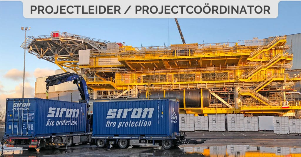 SIRON Fire Protection jobs vacature projectleider projectcoordinator