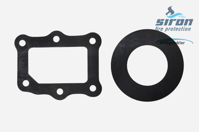 siron fire protection valves gaskets jomos eurosprinkler gaskets spare kit 6 inch dn 150 s334034