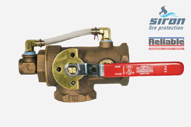 siron fire protection valves itc test and drain valve threaded