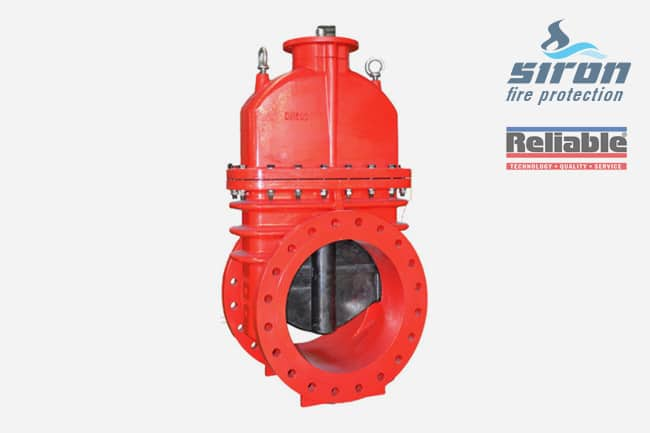 siron fire protection valves gate valve rasco nrs non rising stem gate valve