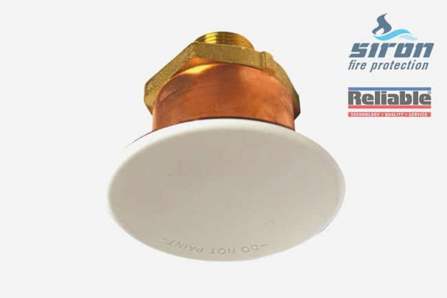 siron fire protection concealed sprinklers g6 56 hsw qr ec