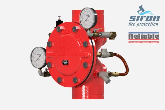 siron fire protection prv pressure regulating valve