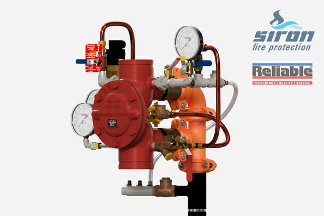siron fire protection valves deluge valve ddv deluge valve remote resetting